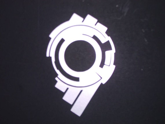 Section 9 Vinyl Sticker GOLD GLOSS 8 x 5.3cm Ghost In The Shell S.A.C