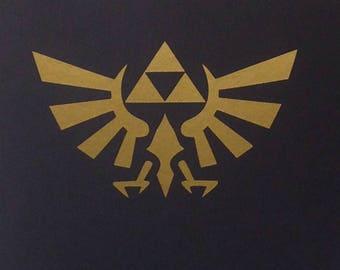 The Legend Of Zelda inspired Vinyl Sticker