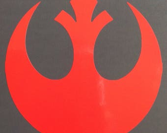 Rebel Alliance insignia from 'Star Wars'  Vinyl Sticker