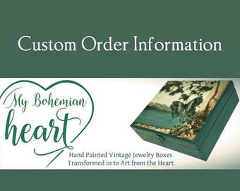 Custom Jewelry Boxes! Custom Armoire, Box Custom Keepsake Box, Custom Jewelry Chest, Customized Gifts Personalized Gift, Custom Jewelry Case