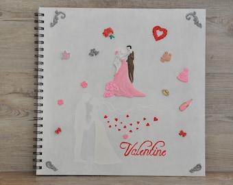 Individual creative wedding book
