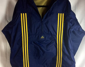 392a8753fe2 Vintage Adidas Pullover Windbreaker (Free Shipping)