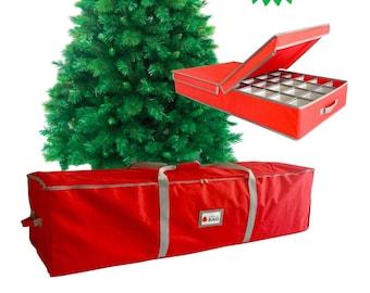 Christmas TREE STORAGE BAG U0026 Decorations Storage Box * Combo Offer