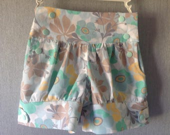 Flower shorts pastels original shape for this summer