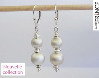 ATOMS taffeta Silver earrings