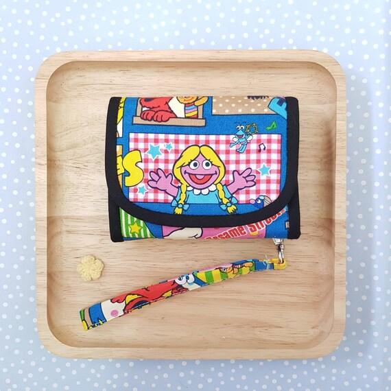READY-TO-SHIP *Sesame Street fabric fold wallet