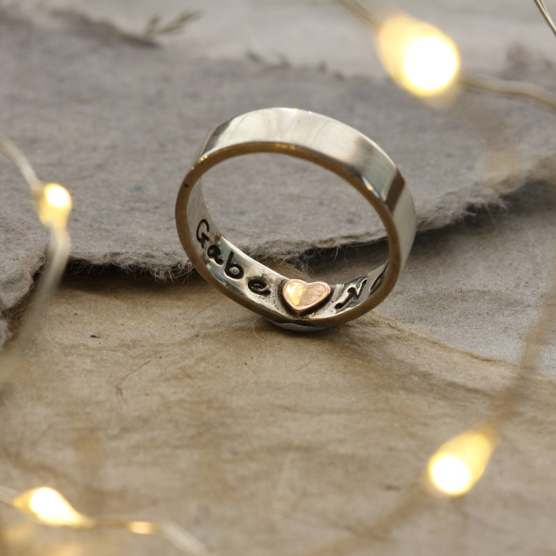 Rings that leave imprints on your finger