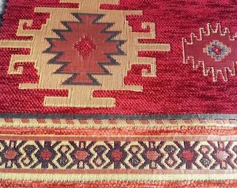 Kilim Fabric By The Yard Etsy