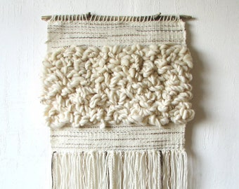 Woven wall hanging, Woven wall art, Tapestry wall hanging, Wall textile weaving