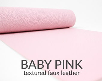 SP-46 CLEARANCE: Imperfect Light Pink Lambskin Faux Leather Sheets Lamb Leather Texture Fabric Sheet Leather for Earrings and Crafts
