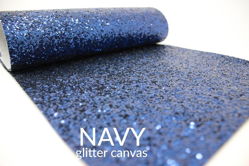 Mermaid A5 Sheet MERMAID Chunky Glitter Canvas Blue Chunky Glitter Glitter Material  Glitter Fabric Chunky Glitter Fabric Sheet