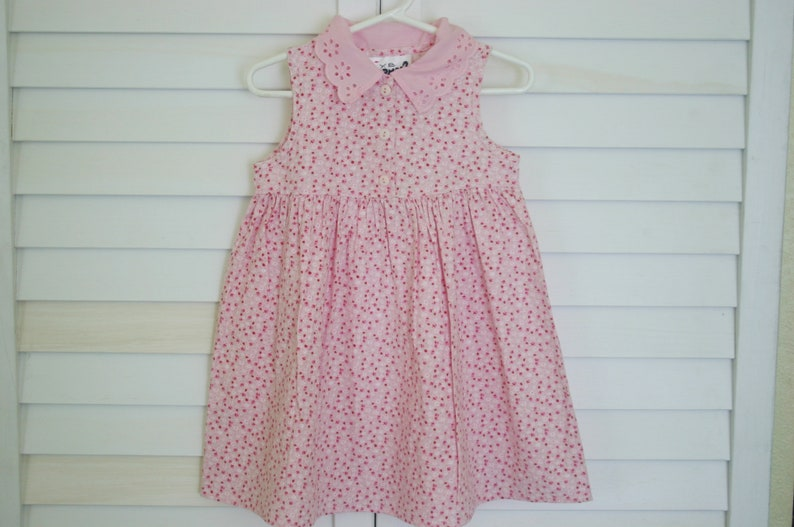 fbc269a748dc0 Girl s Easter Dress 4T Vintage 4 Year Old Girl s Pink