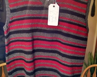 Men's lightweight wool sweater vest