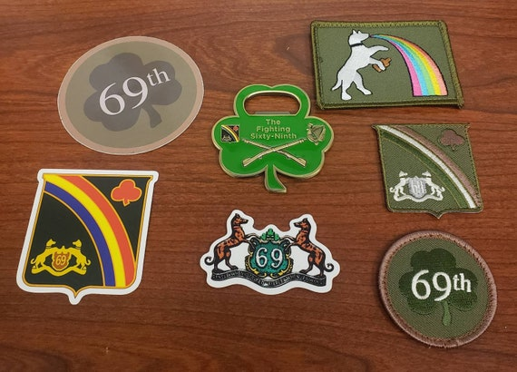 Wolfhound 69th infantry Sticker The Fighting 69th Irish Brigade