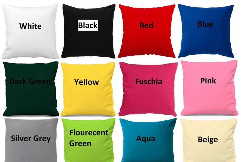 Cotton cushion cover 10 12 14 16 image 0