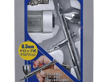 GSI Creos Airbrush  PS274 Procon BOY WA 0.3mm nozzle Double Action with 10cc Cup Mr.Hobby from Japan Free Shipping