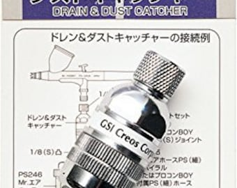 GSI Creos Airbrush  PS282 Drain & Dust Catcher Mr.Hobby from Japan Free Shipping