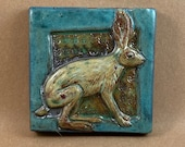 Small Rabbit Tile (4 x 4 inch aprox)