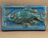 Horizontal Fish Swimming Left Tile #1 (3 x 6 inch aprox)