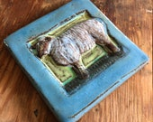 Small Sheep Tile (4 x 4 i...