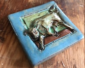 Small Cow Tile (4 x 4 inc...