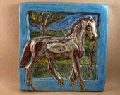 Horse Tile - Bay #2 (6 x 6 inch aprox)