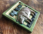 Laundry Pig Tile (6 x 6 i...