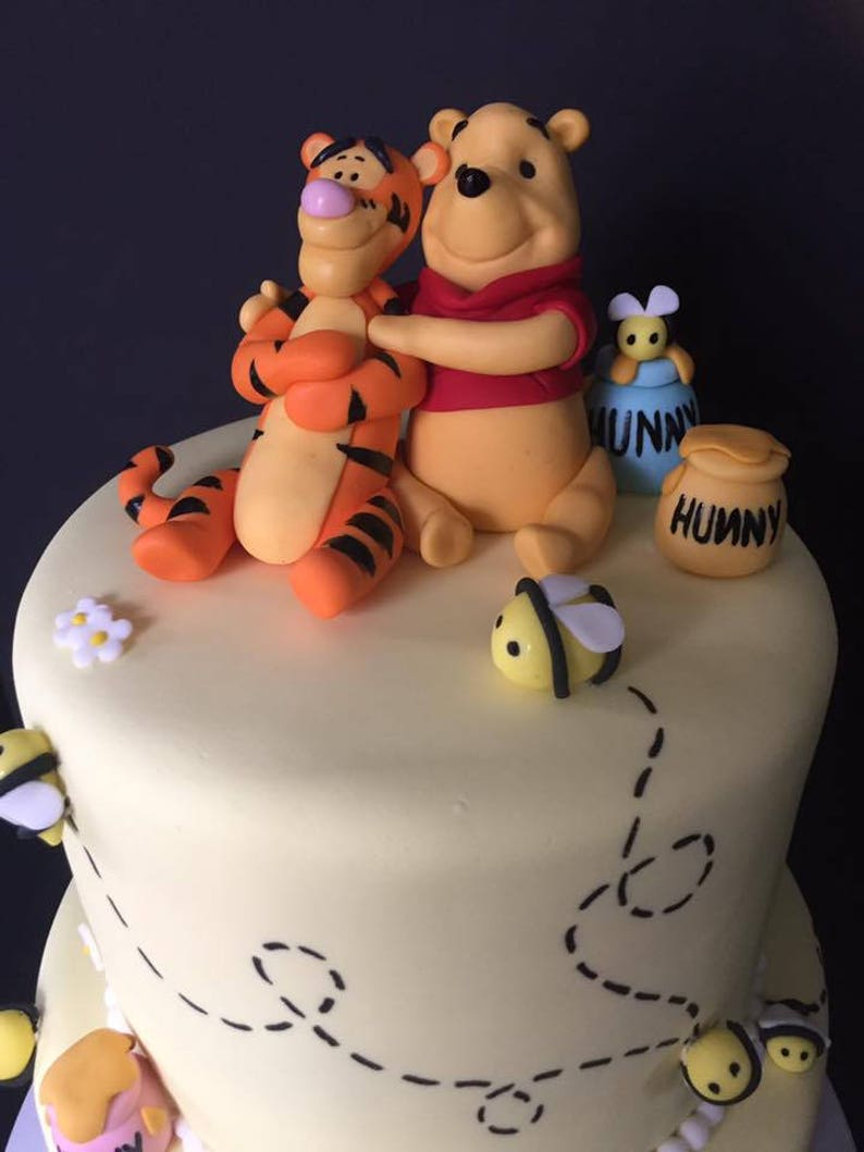 Winnie The Pooh Fondant Cake Topper
