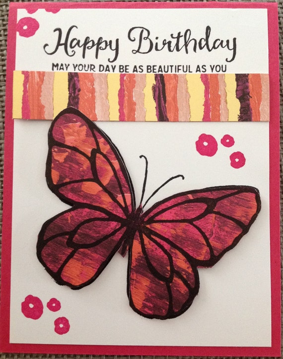 Happy Birthday May Your Day Be As Beautiful As You Are Etsy