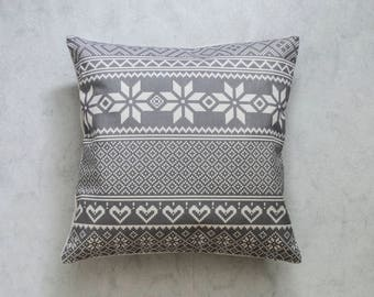 Christmas Aztec Pillow Cover, Bohemia Pattern Pillow Cover, Pillow Covers, Throw Pillow, Boho Cushion Cover, Decorative Pillow Cover