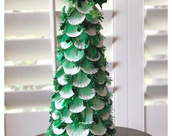 Luck of the Irish...St. Patrick's Day Shell Tree