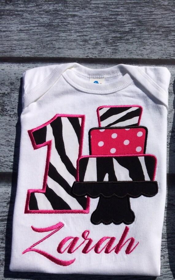7cc6ad94 Cake birthday shirt custom birthday shirt first birthday | Etsy