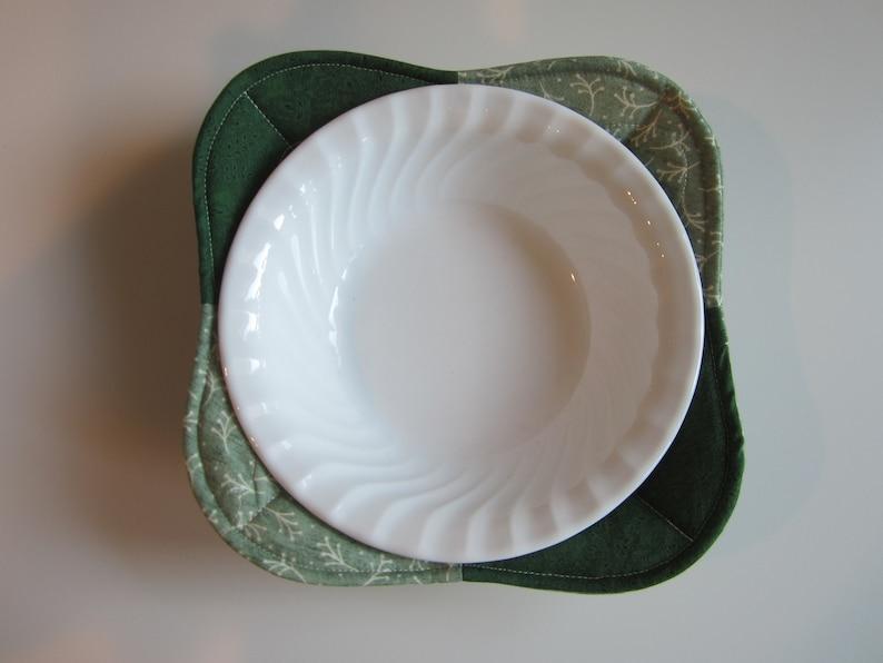 Microwave Bowl Cozy Microwave Potholder Bowl Cozy Set of 2 Microwave Bowl Cozies