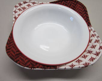 Microwave Bowl Cozy - Set of 2 Microwave Cozies - Bowl Cozy - Microwave Potholder