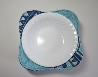 Microwave Bowl Cozy - Set of 2 Microwave Bowl Cozies - Bowl Cozy