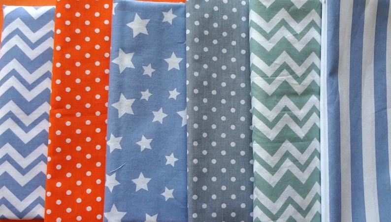 Kids room bunting Blue bunting Bright colours bunting Fabric bunting,Weddings decor Baby boy bunting Blue orange green and grey bunting