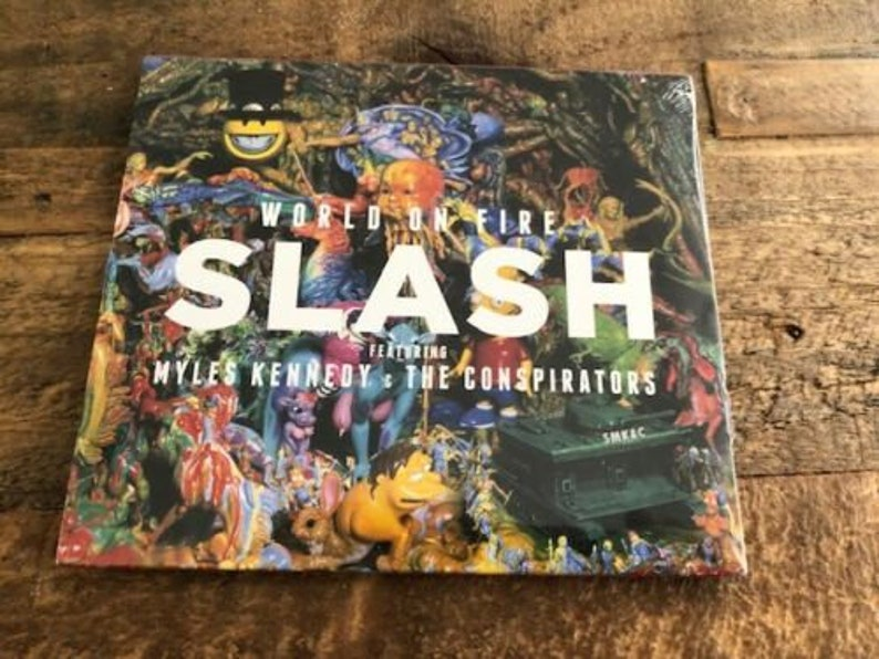 Slash - World On Fire CD - SEALED!!!!! - New