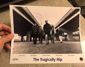 The Tragically Hip - Rare Press Photo
