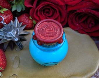 Triss Merigold's Strawberry & Rose Glamarye, Witcher, Triss Inspired Perfume, Cosplay, Gift, Wiedźmin, Creme Perfume, Fanmade