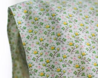 Vintage Maternity Shift Dress ~ Sleeveless Handmade Country Prairie Floral ~ L/XL