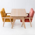 small kids wooden table, Children's Activity Table, kids furniture, gift ideas, childroom
