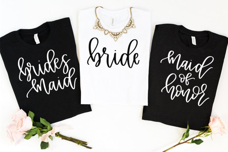 8a85b1be7 Bachelorette Party Shirts / Maid Of Honor / Bride Shirt / | Etsy