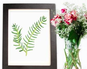 Rosemary Watercolor - Digital Download