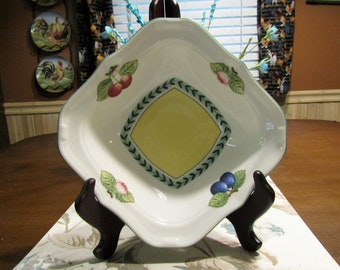 Villeroy U0026 Boch * * FRENCH GARDEN FLEURENCE * * House And Garden  Collection; Individua Square Salad Bowl
