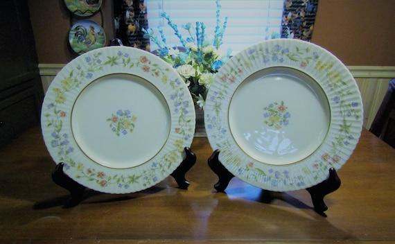 Set Of 4 Lenox Spring Bouquet Dinner Plates