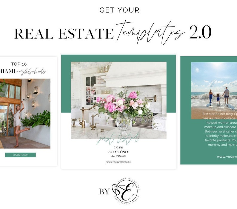 Real Estate Templates  Canva Social Media Templates for Real image 0