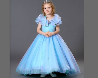 3eef5aa6420 Luxury Cinderella dress Cinderella princess Cinderella ball gown Cinderella  costume girls and toddler birthday dress