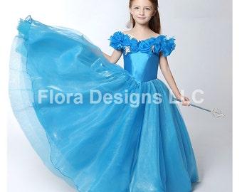 Cinderella costume Cinderella girl dress princess dress