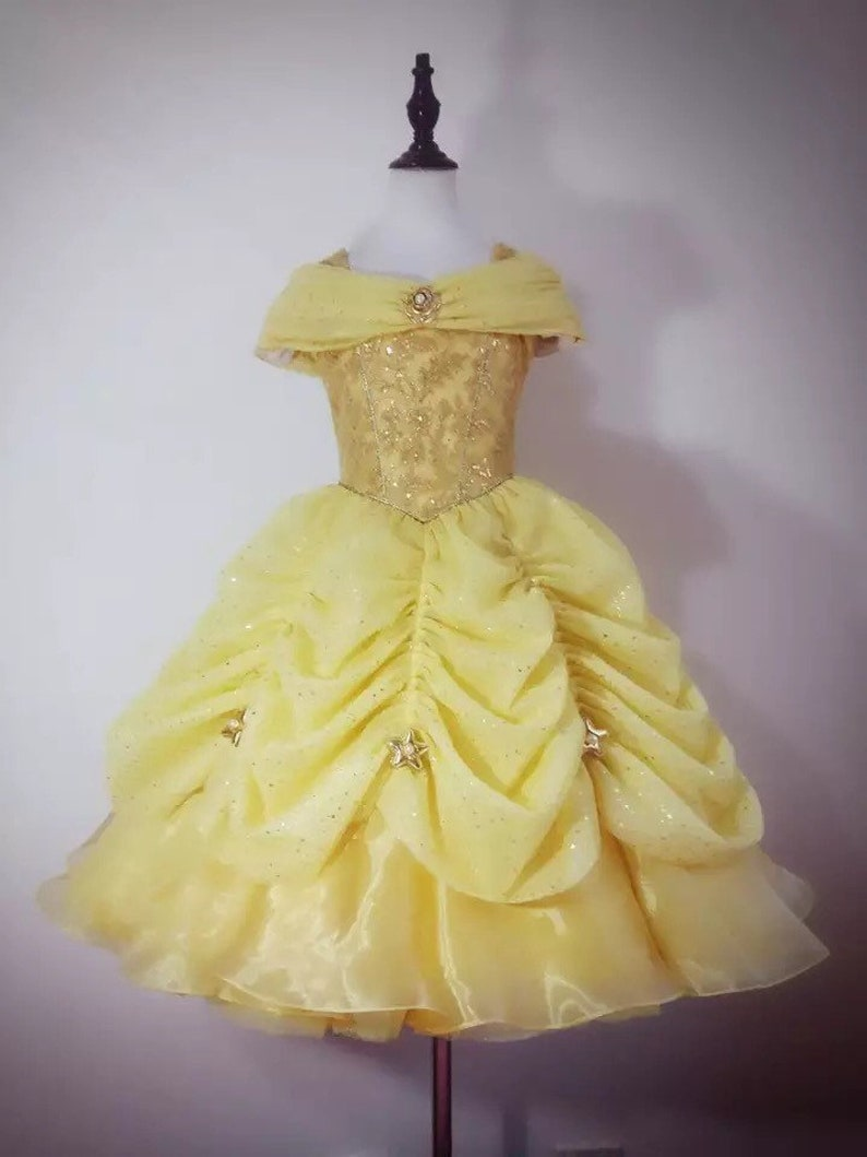 822ed1e1d Luxury Belle costume belle dress belle beauty and beast Disney | Etsy