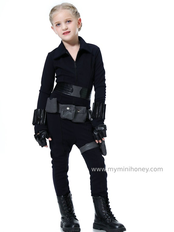 Black Widow Costume Kids Black Widow Costume Girls Black Widow Costume Adult Black Widow Women Cosplay Captain America Avenger Costume